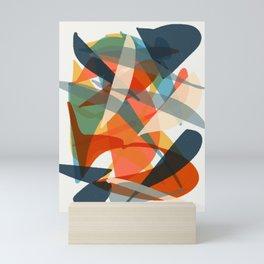Abstract Fish Mini Art Print