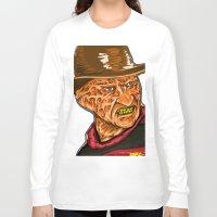 freddy krueger Long Sleeve T-shirts featuring Freddy Krueger by Art of Fernie