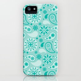 Bohemian Dream in Turquoise iPhone Case
