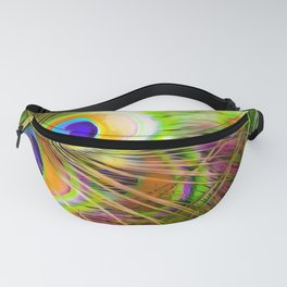 Bird Models: Peacock Feathers 01-01 Fanny Pack