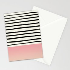 Blush x Stripes Stationery Cards