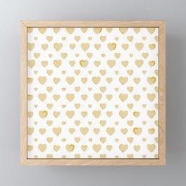Made for you my heart 30 Framed Mini Art Print