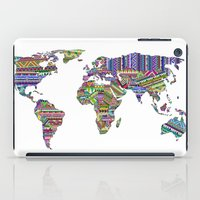 decal iPad Cases featuring Overdose World by Bianca Green