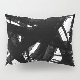Abstract Strokes Pillow Sham