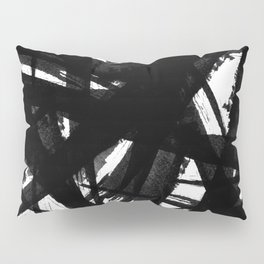 Abstract Strokes Pillow Sham