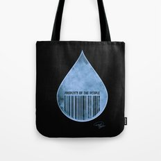 Water : Property of the People 2 Tote Bag