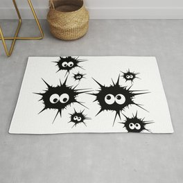 Cute Monsters family Rug