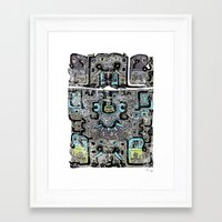 peru Framed Art Prints featuring Old Peru by gtrapp