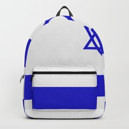 israel flag Backpack