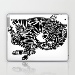 the Cat.mixed media. Laptop & iPad Skin