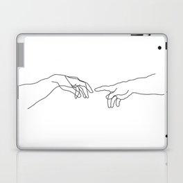 Creation of Adam Minimal Drawing Laptop & iPad Skin