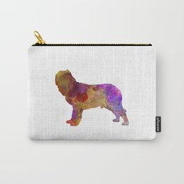 Napolitan Mastiff in watercolor Carry-All Pouch