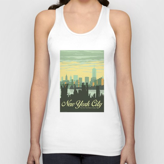 NYC Skyline Unisex Tank Top