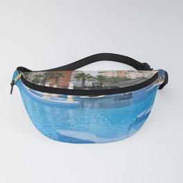 Solana Hotel Swimming Pool Benidorm Spain Fanny Pack