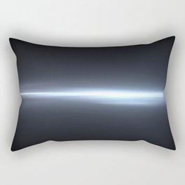 crack in space Rectangular Pillow
