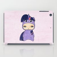 mlp iPad Cases featuring A Boy - Twilight Sparkle by Christophe Chiozzi