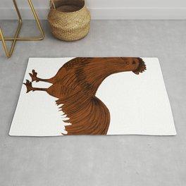 Rooster Design Rug