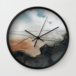Carl Wark from Higger Tor, Peak District Wall Clock