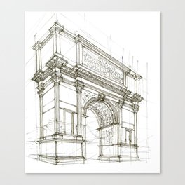 Arch of Titus Canvas Print