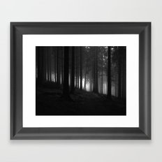 nature. Framed Art Print