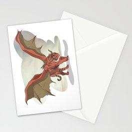 Manticore illustration Stationery Cards