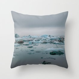 Ice Breaker Throw Pillow