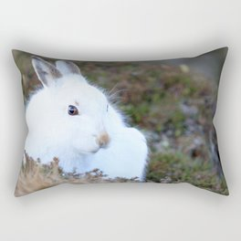 Lepus timidus Rectangular Pillow