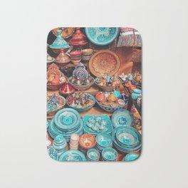Moroccan bazaar Bath Mat