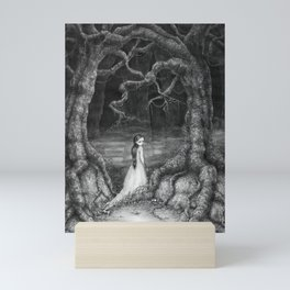 Path of thorns Mini Art Print