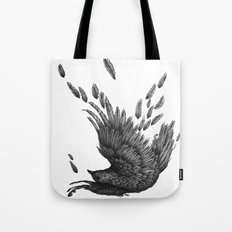 Raven Unravelled Tote Bag