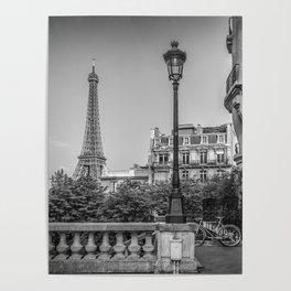 Parisian Flair | monochrome Poster