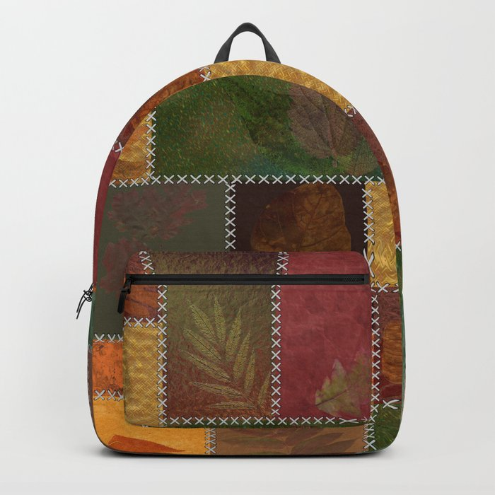 Stitches Of Autumn Backpack