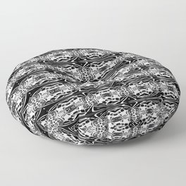 Gothic Lace Pillow Floor Pillow