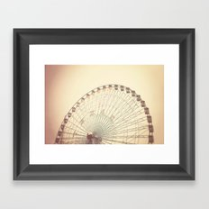Texas Star Framed Art Print