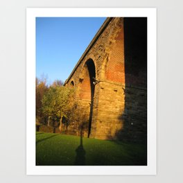 Railway Arch Art Print