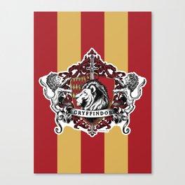 Gryffindor Color Canvas Print