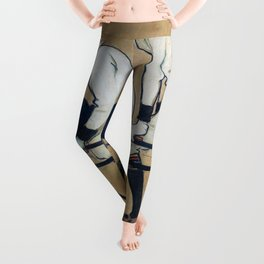 Ramon Casas And Pere Romeu On A Tandem - Digital Remastered Edition Leggings