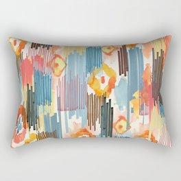 VIVID IKAT Rectangular Pillow