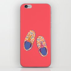 Butterfly Shoes iPhone & iPod Skin