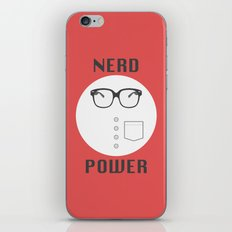 Nerd Power iPhone & iPod Skin