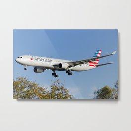 American Airlines (US Airways) A330 Metal Print