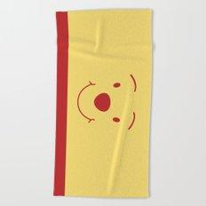Winnie The Pooh Cute Bear Beach Towel