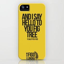 TI SALUTO PED I FICO iPhone Case