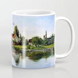Village of Schliersee, Highlands - Theodore Clement Steele Coffee Mug