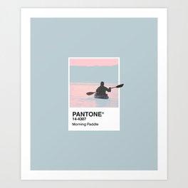 Pantone Series – Paddle Art Print