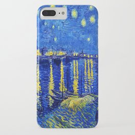 Starry Night Over Rhone iPhone Case