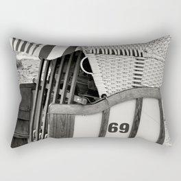 BEACH CHAIR 69 - Baltic Sea Rectangular Pillow