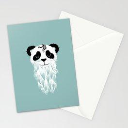 Panda Beard Stationery Cards