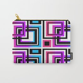 Rainbow Geometric Carry-All Pouch