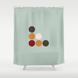 Akateko Shower Curtain